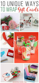unique gift cards 10 unique gift card wrapping ideas unoriginal