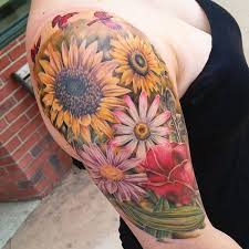 Male Flower Tattoos - 52 best tattoo images on pinterest tatoos floral tattoos and