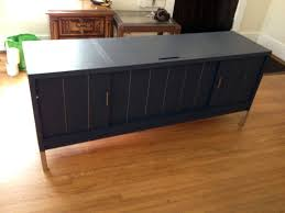 mid century console cabinet mid century modern console midcentury stereo grundig picture on