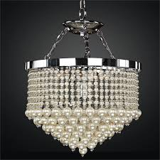 pearl chandelier pearl chandelier light vintages 641 glow lighting