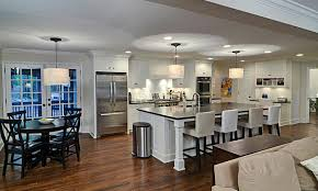 kitchen island with raised bar how to choose cabinets and countertops atlanta home improvement