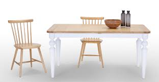 betty extending dining table white made com