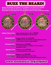 octoraro buzz the beard campaign u2013 octoraro lodge 22