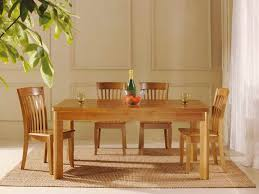 oak dining room table and chairs 11435