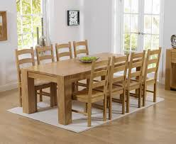 solid oak table with 6 chairs spectacular chunky solid oak dining table and 6 chairs f63 on