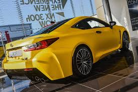lexus yellow matte yellow rc f at lexus belfast lexus rc350 u0026 rcf forum