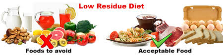 low residue diet slim and fit
