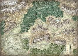 Faerun Map World U0026 Regional Maps On Behance