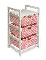 Baby Storage Baskets Badger Basket Three Drawer Hamper Storage Unit By Oj Commerce