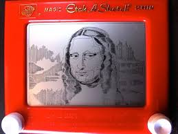 etch a sketch mona lisa sketches mona lisa and amazing art