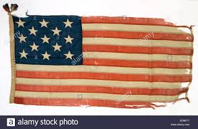 Usa Stars Flag Worn Out U S Flag With 13 Stars Representing The Original 13