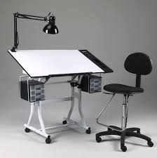 Artist Drafting Tables Table Picturesque Drawing Art Hobby Craft Table Desk W Drawers