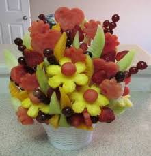 edible fruit arrangements make an edible fruit bouquet easy how to photos