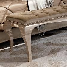 high end designer italian button upholstered bench juliettes