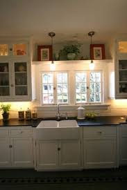 Light Above Kitchen Sink Best 25 Shelf Above Window Ideas On Pinterest Above Window