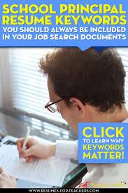 Resume For Teacher Post 110 Best Teacher And Principal Resume Samples Images On Pinterest
