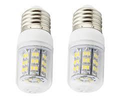 uniox 2 pack led light bulbs solar power 12v 24 e26 4 watt