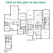 Floor Plans For 2 Story Homes by Richmond Plan Chesmar Homes Dallas