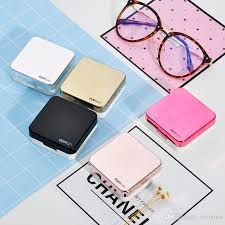 square design color contact lens case halloween contacts travel