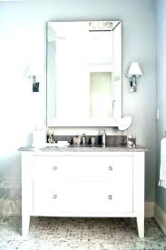 white bathroom mirror cabinet master bathroom vanity mirrors love the white subway tile with