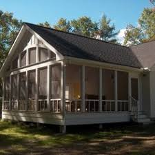 check out this stunning enclosed deck built by exterior additions