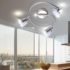 Deckenlampen F S Esszimmer Led 9 Watt Decken Strahler Spot Lampe Rund Beleuchtung