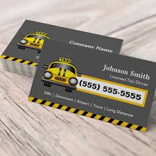 Design Your Own Business Card For Free Urban Taxi Driver Yellow Cap Business Cards You Can Customize