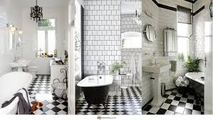 beautiful bathroom decorating ideas bathroom beautiful black and white tile bathroom design decor