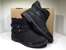s ugg australia black zea boots ugg australia fur booties for ebay