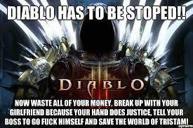 Diablo Meme - diablo dump day memes with bad stats album on imgur