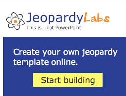 Jeopardy Labs Allows You To Create A Customized Jeopardy Template Jepordy Template