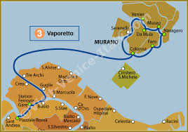 venice vaporetto map water venice vaporetto map of line 3 actv