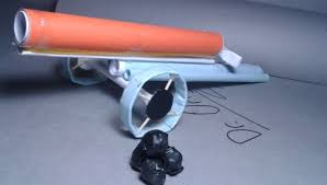 diy how to make a paper cannon that shoots paper ball very