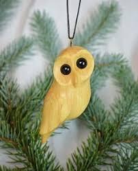 16cm wooden owl ornament wood carving owl ornament