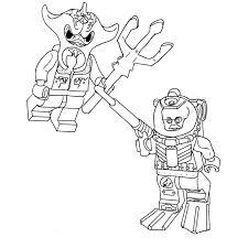 53 dessins de coloriage lego chima à imprimer