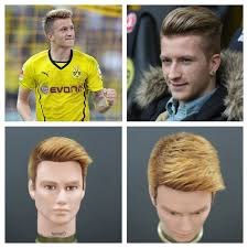 reus hairstyle name marco reus haircut hair color tutorial thesalonguy youtube