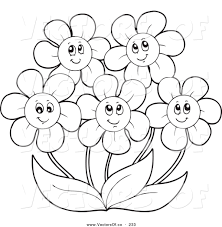 daisy clipart may flower pencil and in color daisy clipart may