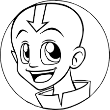 aang xd avatar airbender coloring wecoloringpage