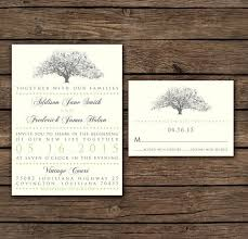 tree wedding invitations tree wedding invitation kac40 info