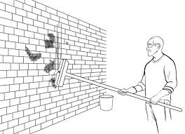 How To Clean The Walls by How To Clean Moss Off A Brick Wall Old House Restoration