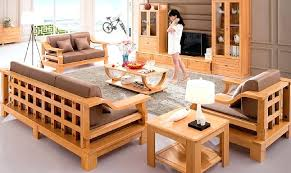 Wooden Sofa Sets For Living Room Modern Wooden Sofa Sets For Living Room Liftechexpo Info