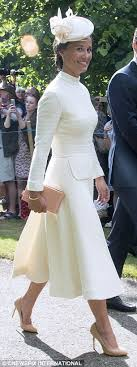 duchess kate duchess kate recycles emilia wickstead dress kate middleton upstaged by sister pippa at princess charlotte s