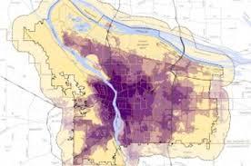 Portland Radar Map by Portland U0027s Gentrification Now Color Coded Willamette Week