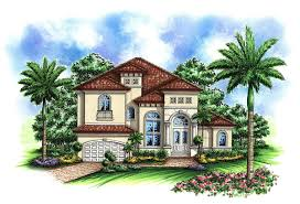 Mediterranean Style Floor Plans Two Story Mediterranean House Plan 66237we Architectural