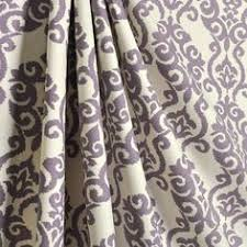 Damask Kitchen Curtains by Lavender Damask Curtain Fabric Upholstery Fabric Curtain Panels