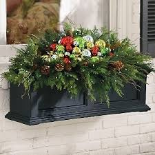 Christmas Decorations For Outside Window Boxes by 96 Best Window Box Decorating For All Seasons Images On Pinterest
