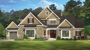 3 Bedroom New American Home Plan HOMEPW