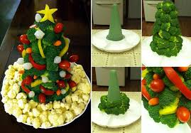 unique vegetable platter with veggie tree home design