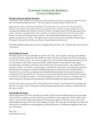 Youth Resume Template Baseball Coach Job Resume Sample Xpertresumes Com