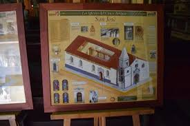 floor plan and contents of church picture of san jose church